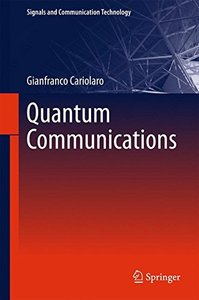 Quantum Communications (Signals and Communication Technology)-cover