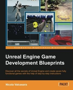 Unreal Engine Game Development Blueprints (Paperback)-cover