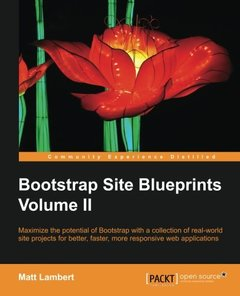 Bootstrap Site Blueprints Volume II Paperback – January 6, 2016-cover