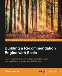 Building a Recommendation Engine with Scala(Paperback)-cover