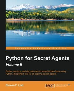 Python for Secret Agents,  2/e(Paperback)-cover