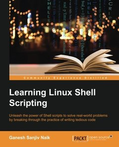 Learning Linux Shell Scripting(Paperback)-cover