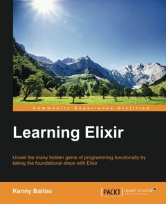 Learning Elixir Paperback – January 6, 2016-cover