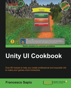 Unity UI Cookbook (Paperback)-cover