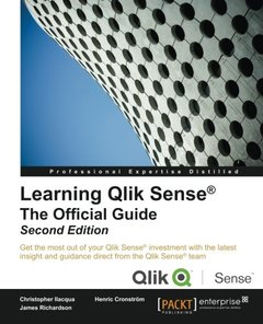 Learning Qlik Sense®: The Official Guide,  2/e(Paperback)-cover
