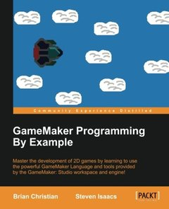 GameMaker Programming By Example Paperback – January 1, 2016-cover
