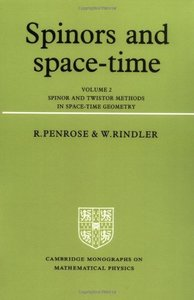 Spinors and Space-Time: Volume 2, Spinor and Twistor Methods in Space-Time Geometry (Paperback)-cover