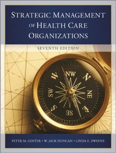 The Strategic Management of Health Care Organizations, 7/e (Hardcover)-cover
