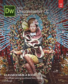 Adobe Dreamweaver CC Classroom in a Book (2015 release) (Paperback)-cover