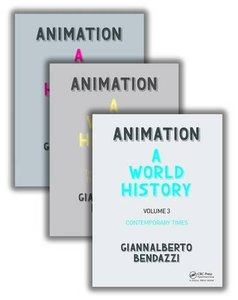Animation: A World History: The Complete Set Ppk Edition (Hardcover)-cover