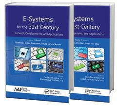 E-Systems for the 21st Century: Concept, Developments, and Applications - Two Volume Set (Hardcover)-cover