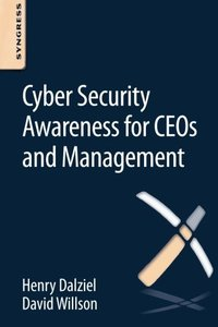 Cyber Security Awareness for CEOs and Management (Paperback)-cover