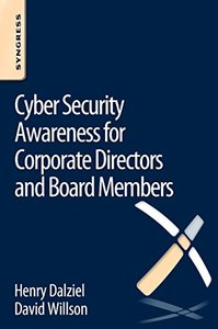 Cyber Security Awareness for Corporate Directors and Board Members (Paperback)-cover