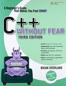 C++ Without Fear: A Beginner's Guide That Makes You Feel Smart, 3/e (Paperback)-cover