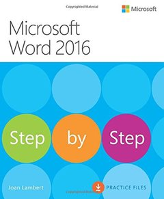 Microsoft Word 2016 Step By Step (Paperback)-cover
