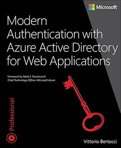 Modern Authentication with Azure Active Directory for Web Applications (Paperback)-cover