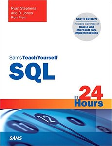 Sams Teach Yourself SQL in 24 Hours, 6/e (Paperback)-cover