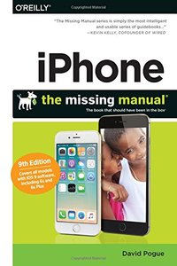 iPhone: The Missing Manual 9/e (Paperback)-cover