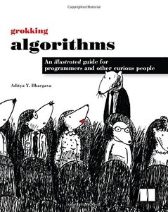 Grokking Algorithms: An illustrated guide for programmers and other curious people (Paperback)-cover