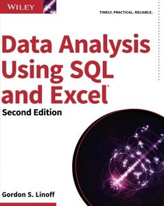 Data Analysis Using SQL and Excel 2/e (Paperback)-cover