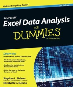 Excel Data Analysis For Dummies, 3/e (Paperback)-cover