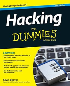Hacking For Dummies, 5/e (Paperback)-cover