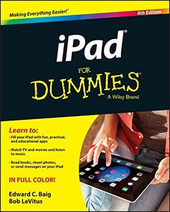 iPad For Dummies 8/e (Paperback)-cover