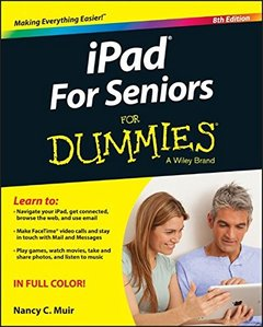 iPad For Seniors For Dummies 8/e (Paperback)-cover