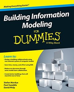 Building Information Modeling For Dummies (Paperback)-cover