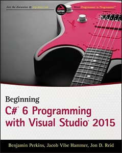 Beginning C# 6.0 Programming with Visual Studio 2015 (Paperback)-cover