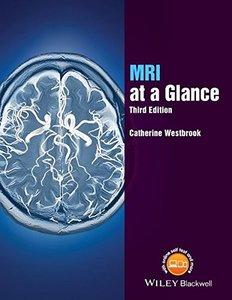 MRI at a Glance 3/e (Paperback)-cover