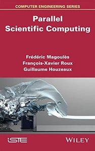 Parallel Scientific Computing (Iste) (Hardcover)-cover
