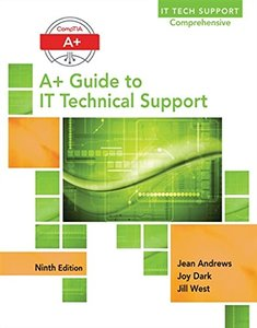 A+ Guide to IT Technical Support 9/e (Hardcover)-cover