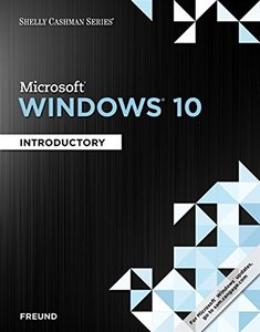 Microsoft Windows 10: Introductory (Paperback)-cover