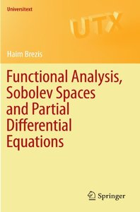 Functional Analysis, Sobolev Spaces and Partial Differential Equations, 2011 Edition (Paperback)-cover