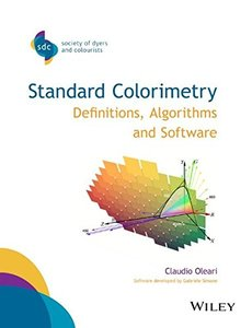 Standard Colorimetry: Definitions, Algorithms and Software (Paperback)-cover