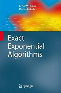 Exact Exponential Algorithms(Hardcover)-cover