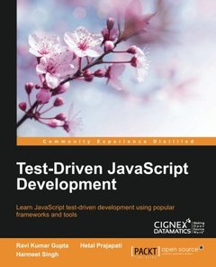 Test-Driven JavaScript Development-cover