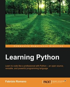 Learning Python-cover