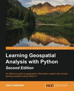 Learning Geospatial Analysis with Python,  2/e(Paperback)-cover
