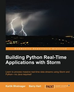 Building Python Real-Time Applications with Storm-cover