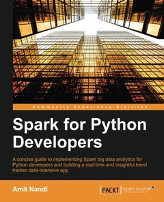 Spark for Python Developers (Paperback)-cover