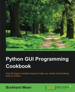 Python GUI Programming Cookbook (Paperback)-cover