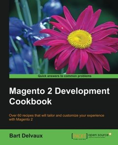Magento 2 Development Cookbook-cover