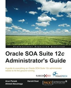 Oracle SOA Suite 12c Administrator's Guide-cover
