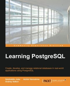 Learning PostgreSQL(Paperback)-cover
