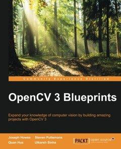 OpenCV 3  Blueprints (Paperback)-cover