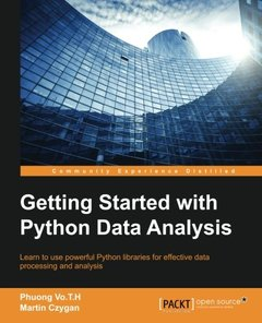 Getting Started with Python Data Analysis (Paperback)-cover
