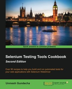 Selenium Testing Tools Cookbook,  2/e(Paperback)-cover