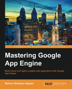 Mastering Google App Engine-cover